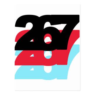 Código de área 267 postales