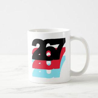 Código de área 267 taza básica blanca