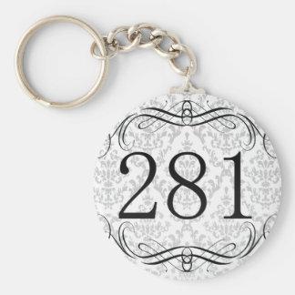Código de área 281 llavero
