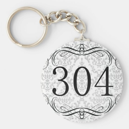 Código de área 304 llavero
