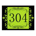 Código de área 304 postales