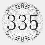 Código de área 335 pegatinas