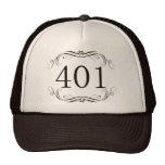 Código de área 401 gorras