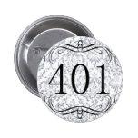 Código de área 401 pins
