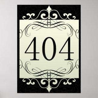 Código de área 404 posters