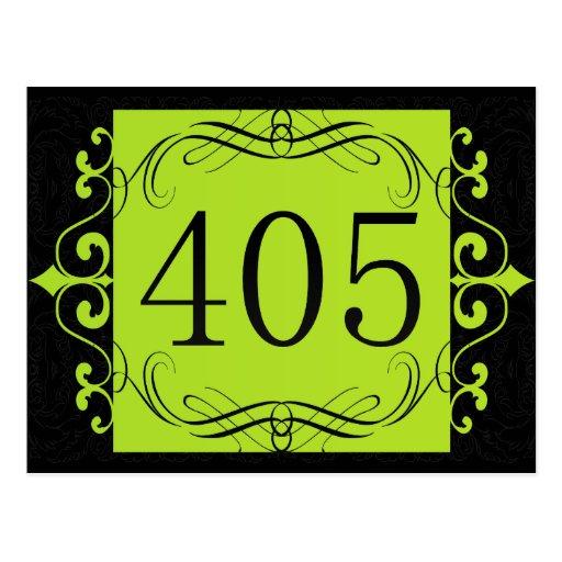 Código de área 405 postal