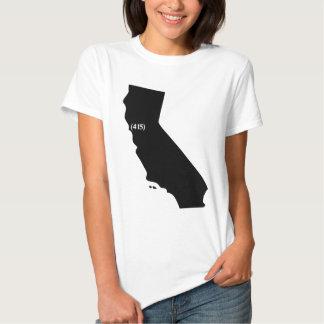 Código de área 415, California, área de la bahía Polera