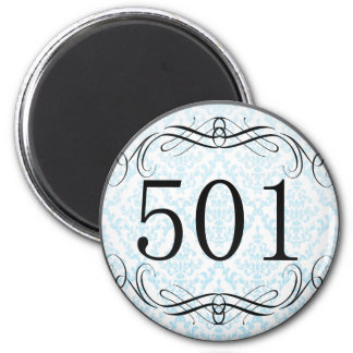 Código de área 501 imán para frigorifico