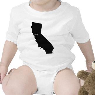 Código de área 510, California, área de la bahía Trajes De Bebé