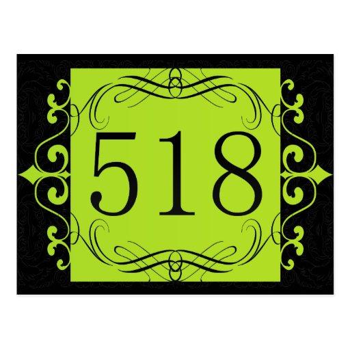 Código de área 518 postales