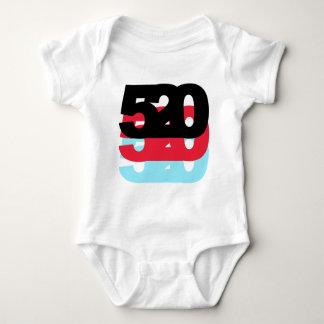 Código de área 520 body para bebé