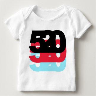 Código de área 520 playera de bebé
