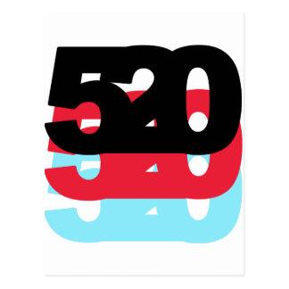 Código de área 520 postal