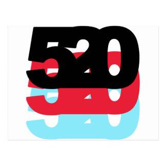 Código de área 520 tarjeta postal