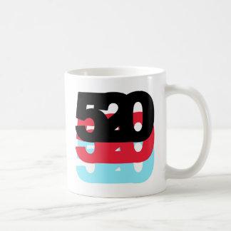 Código de área 520 taza de café