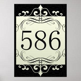 Código de área 586 posters