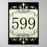 Código de área 599 poster
