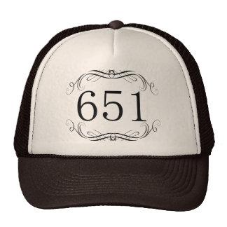 Código de área 651 gorro