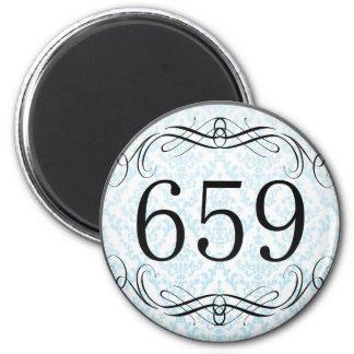 Código de área 659 imán