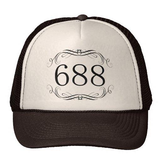 Código de área 688 gorras