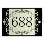 Código de área 688 tarjeta