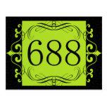 Código de área 688 tarjeta postal