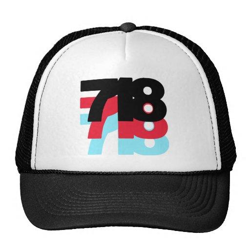 Código de área 718 gorra