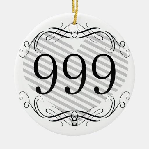 Código de área 721 ornamentos para reyes magos
