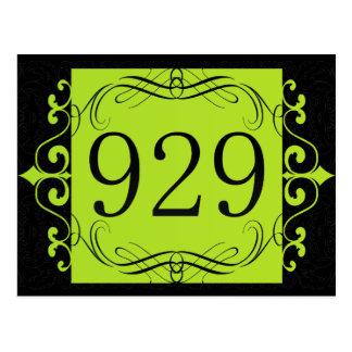 Código de área 929 tarjeta postal