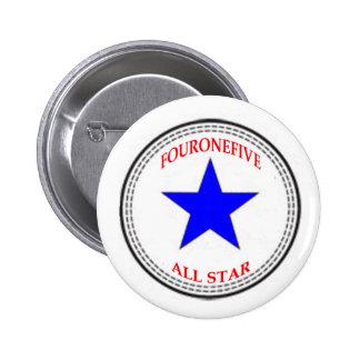 Código de área All Star - 415 San Francisco blanc Pin