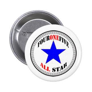 Código de área All Star - 415 San Francisco nuevo Pins