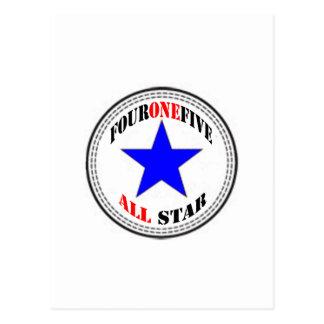 Código de área All Star - 415 San Francisco (nuevo Tarjeta Postal