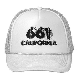 Código de área de California 661.  Idea del regalo Gorro De Camionero