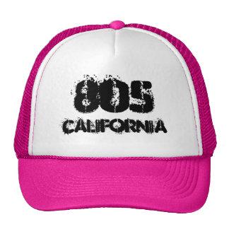 Código de área de California 805.  Idea del regalo Gorras De Camionero
