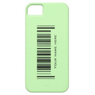 Código de barras adaptable iPhone 5 fundas