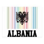 Código de barras Albania Tarjeta Postal