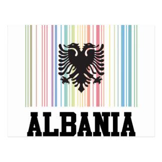 Código de barras Albania Tarjetas Postales