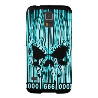 Código de barras astral 666 del demonio carcasas para galaxy s5