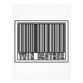 Código de barras Brother gemelo Tarjetón