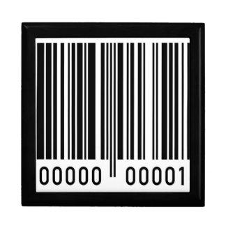 Código de barras cajas de joyas