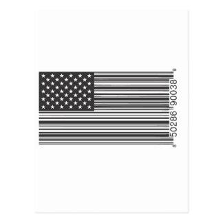 Código de barras de los E.E.U.U. Tarjetas Postales