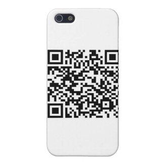 Código de barras de QR: Gracias por explorarme… iPhone 5 Carcasa