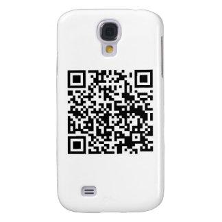 Código de barras de QR: Siendo explorado me hace f Funda Para Galaxy S4