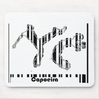 código de barras del capoeira del mousepad