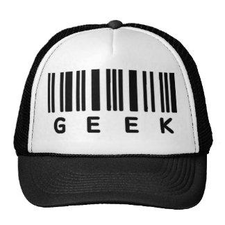 Código de barras del friki gorras de camionero