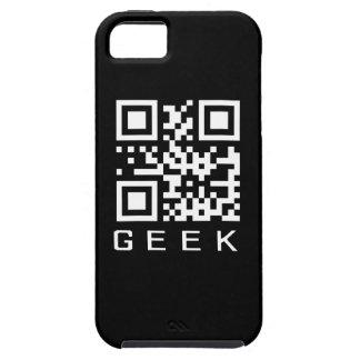 Código de barras del friki QR Funda Para iPhone SE/5/5s