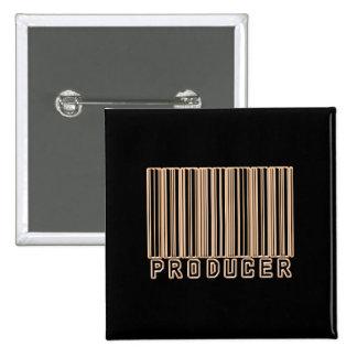 Código de barras del productor pins