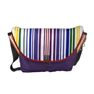 Código de barras doble del arco iris bolsas de mensajeria
