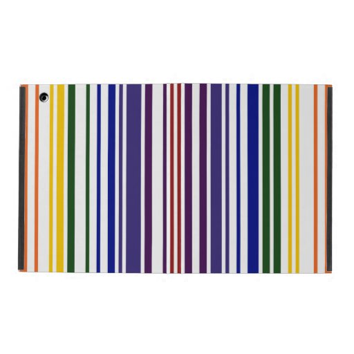 Código de barras doble del arco iris iPad carcasa
