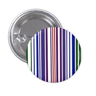 Código de barras doble del arco iris pin